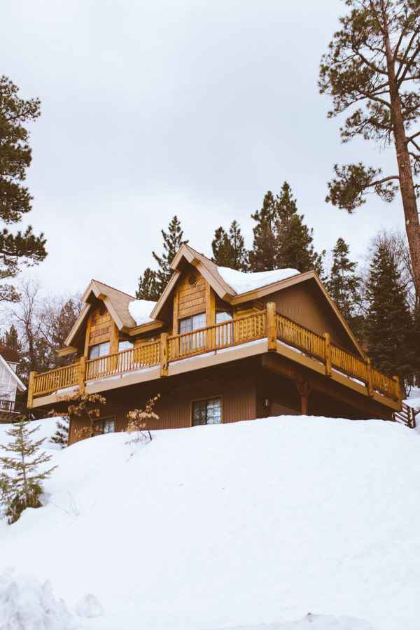 Large chalet-style house